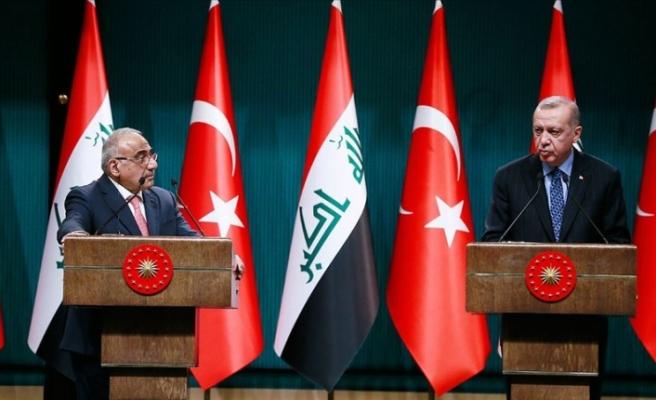 Cumhurbaşkanı Erdoğan: Irak ile askeri iş birliği yapılmasının isabetli olacağına karar verdik