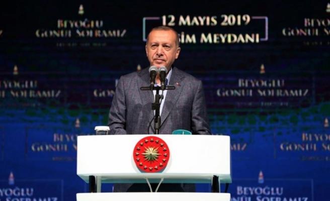 Cumhurbaşkanı Erdoğan: İstanbul halkı 23 Haziran'da gereken cevabı verecektir