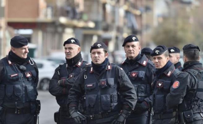 İtalya'da mafyaya karşı operasyon