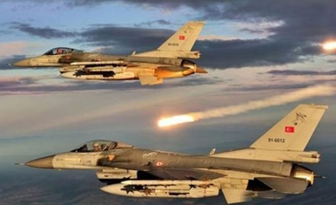 TSK'dan Irak'ın kuzeyine hava harekatı! Hepsi yok edildi