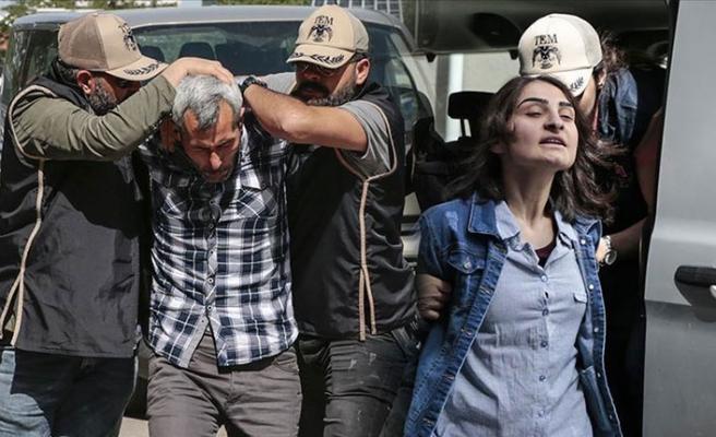 Meclis'e terör eylemi için girmeye çalışan iki DHKP-C'li tutuklandı