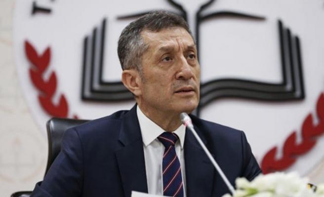 Milli Eğitim Bakanı Ziya Selçuk duyurdu