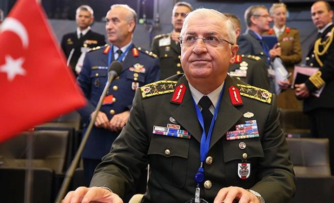 NATO üyesi 29 ülkenin genelkurmay başkanları Brüksel'de buluştu