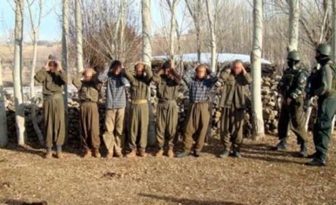 PKK'da çöküş hızlandı! 127 terörist teslim oldu
