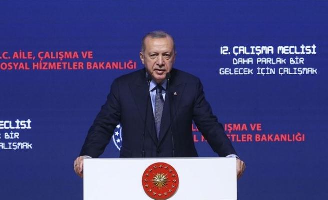Cumhurbaşkanı Erdoğan: Tüm ekonomik saldırılara rağmen hedeflerimize doğru yürüyoruz