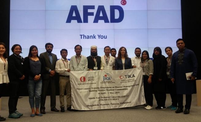Türkiye afet yönetimi tecrübesini Asya ülkeleriyle paylaşıyor