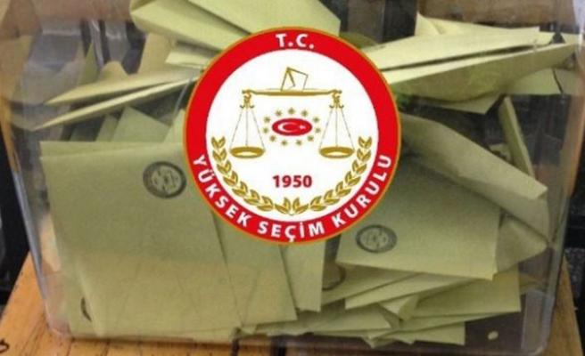 YSK kesin seçim sonuçlarını ilan etti