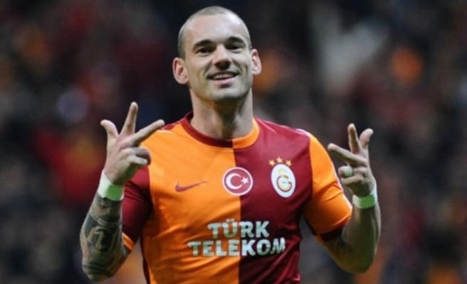 Wesley Sneijder şampiyonluk için geliyor