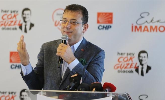 CHP İBB Başkan Adayı İmamoğlu: 31 Mart öncesi vaatte bulunduk geldik, yaptık