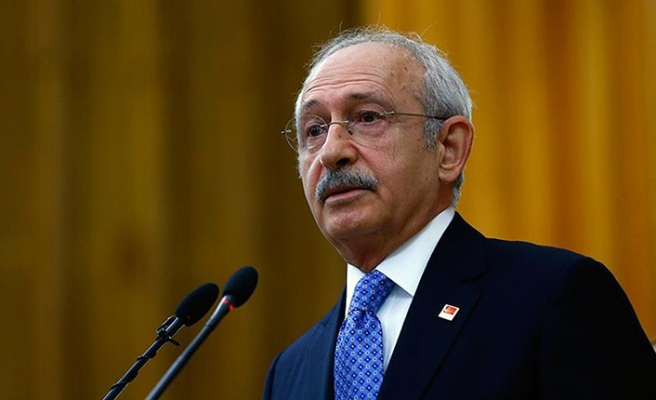 CHP lideri Kılıçdaroğlu'ndan teşekkür