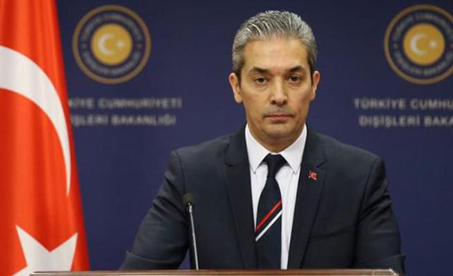 Dışişleri Bakanlığı'ndan Rum Yönetimi'ne tutuklama tepkisi