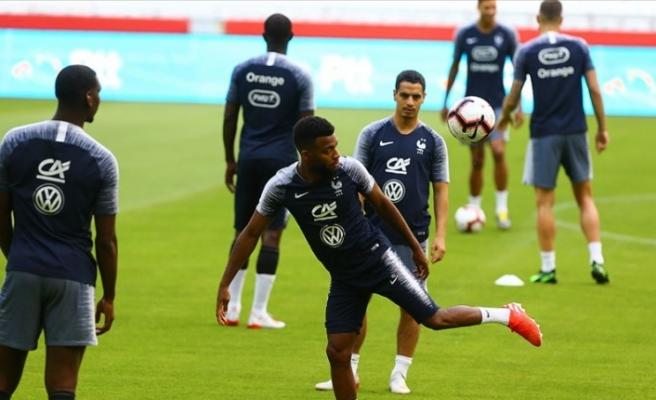 Fransa Türkiye maçının hazırlıklarını tamamladı