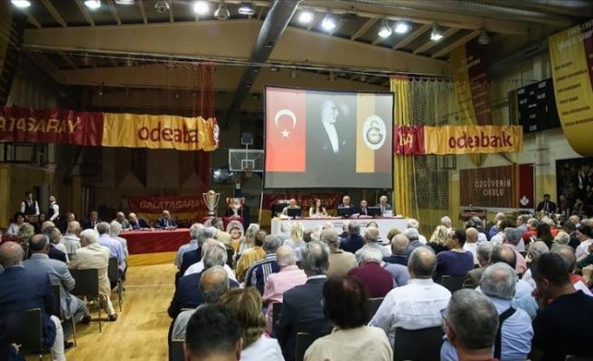 Galatasaray Kulübünün olağan divan kurulu toplantısı yapıldı