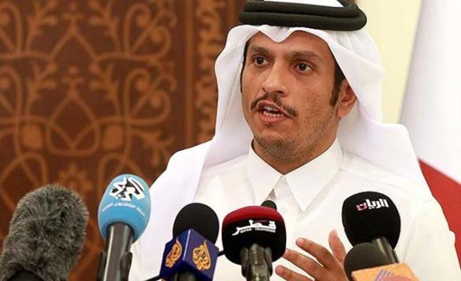 Katar'dan iki ülkeye uyarı: 'İlelebet böyle devam edemez'
