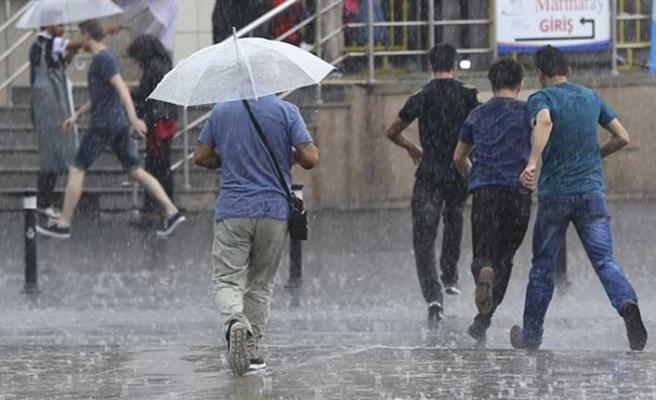 Meteoroloji uyardı! Türkiye'nin tamamına şiddetli sağanak geliyor