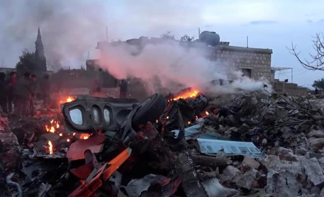 Rusya ve Esed güçlerinden İdlib'e hava saldırısı