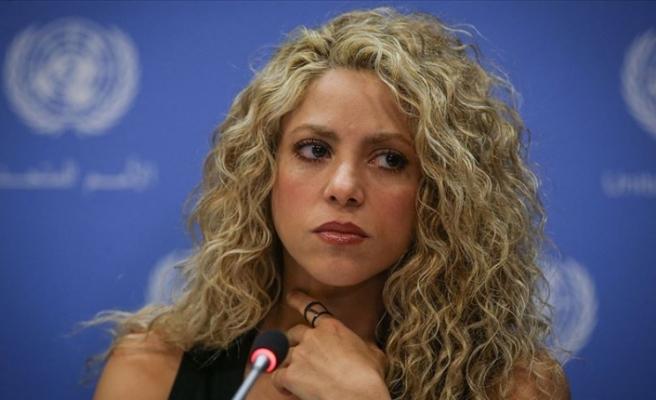 Shakira vergi kaçırma suçlamasından ifade verdi