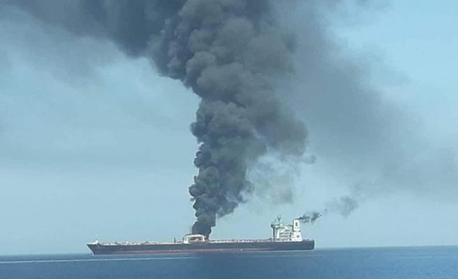 Tanker saldırıları ile ilgili bir açıklamada ABD'den