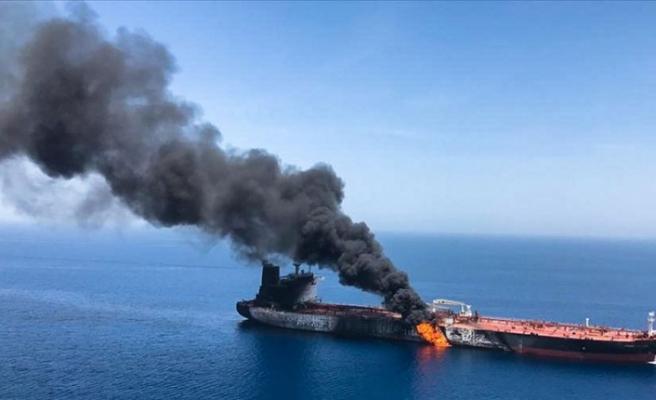 Türkiye Umman Körfezi'ndeki iki tankere yönelik saldırıyı kınadı