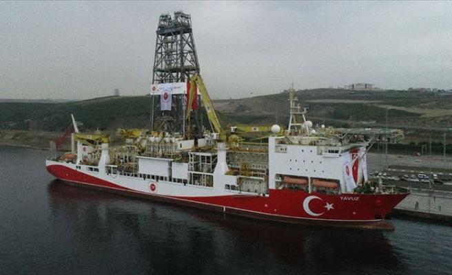 Türkiye için tarihi gün!  İkinci sondaj gemisi 'Yavuz' Akdeniz'e uğurlandı