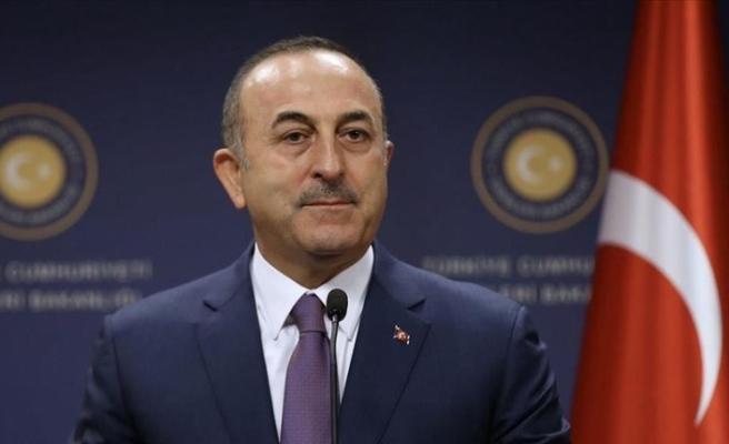 Çavuşoğlu, IKBY Başbakanı Barzani ile telefonda görüştü