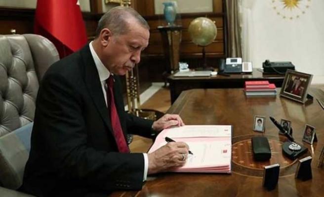Cumhurbaşkanı Erdoğan imzaladı... İşte yeni atama ve görevden alma kararları