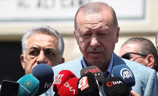 Cumhurbaşkanı Erdoğan'dan yeni parti sorusuna cevap
