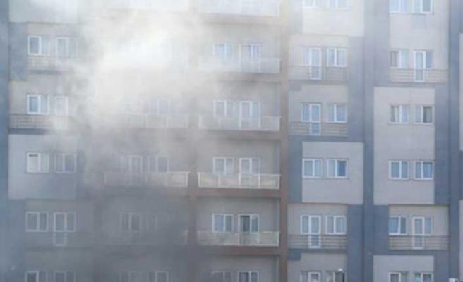 İstanbul'da öğrenci yurdunda korkutan yangın
