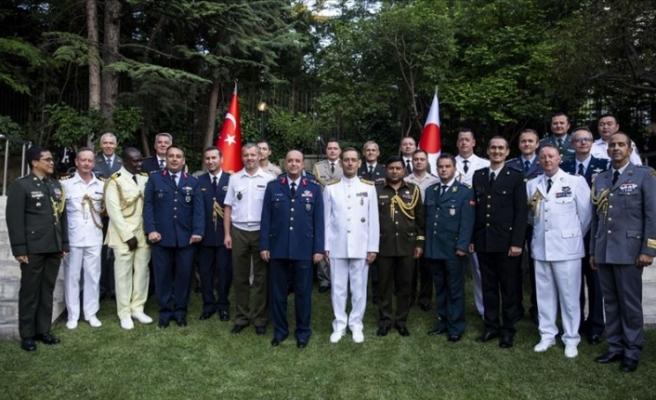 Japonya Özsavunma Kuvvetleri Günü Ankara'da kutlandı