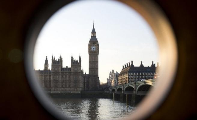 Londra'nın simgesi yeni yaşına sessiz sedasız girdi