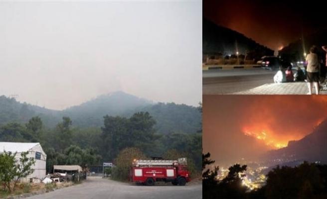 Muğla'daki ikinci yangın evlere varmadan söndürüldü