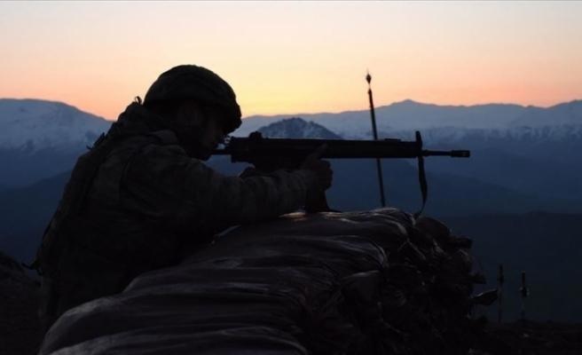 Operasyonda etkisiz hale getirilen teröristin gri listede olduğu tespit edildi