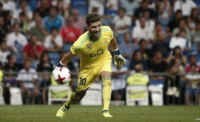 Real Madrid, Luca Zidane'ı Racing Santander'e kiraladı