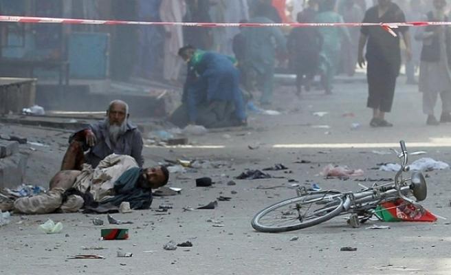 Afganistan'da art arda 4 patlama! 30 yaralı