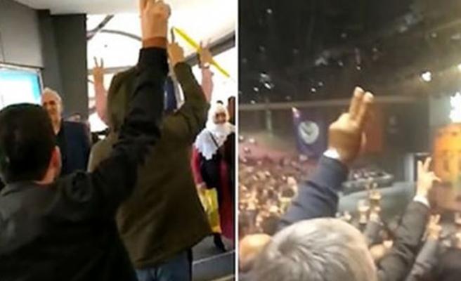 HDP'nin 3. Olağan Kongresi'nde skandal görüntüler!