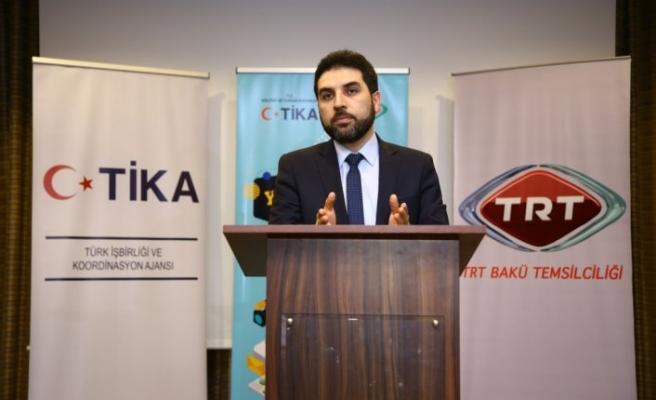 TİKA ve TRT işbirliğinde Azerbaycanlı gazetecilere eğitim