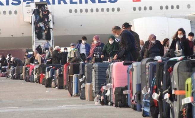 Almanya'dan getirilen 349 Türk vatandaşı Muğla'daki yurtlara yerleştirildi