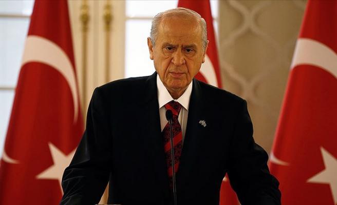 MHP Genel Başkanı Bahçeli'den Biden'a tepki