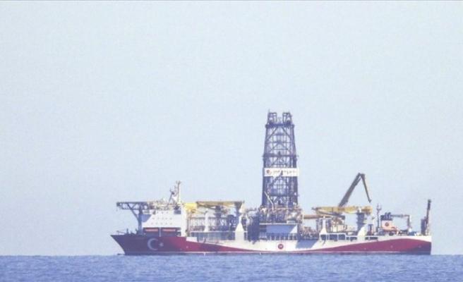 Türkiye'nin ilk yerli sondaj gemisi 'Fatih' Kastamonu açıklarında