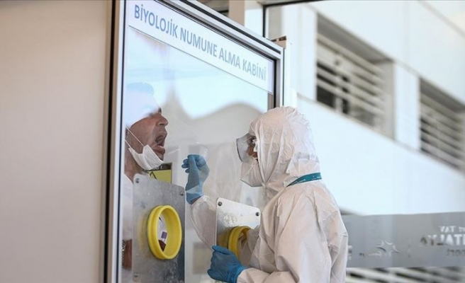 Antalya Havalimanı'nda Kovid-19 laboratuvarı açıldı