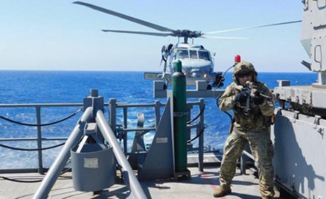 Milli Savunma Bakanlığı'ndan Orta Akdeniz'de harekata hazırlık eğitimi