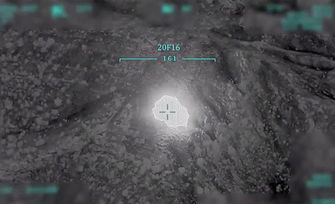 MSB'den Pençe-Kaplan Operasyonu için yeni açıklama! Haftanin'deki terör hedefleri yerle bir edildi