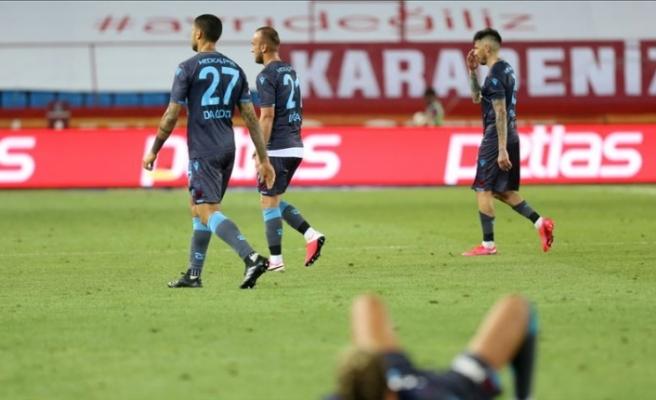 Trabzonspor'da puan kayıpları sürüyor
