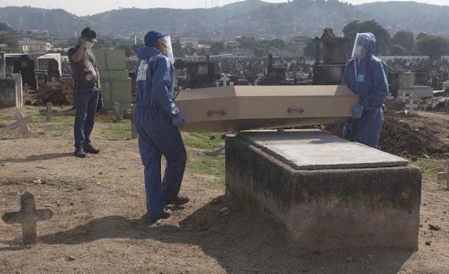 Brezilya, Meksika ve Hindistan'da Kovid-19 nedeniyle son 24 saatte 2 bin 435 ölü