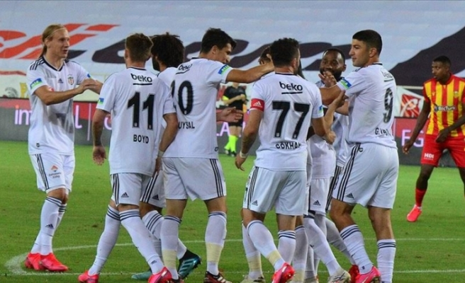 Beşiktaş haftayı 3 puanla kapattı