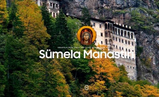 İletişim Başkanlığından Sümela Manastırı'nın tanıtımı için internet sitesi