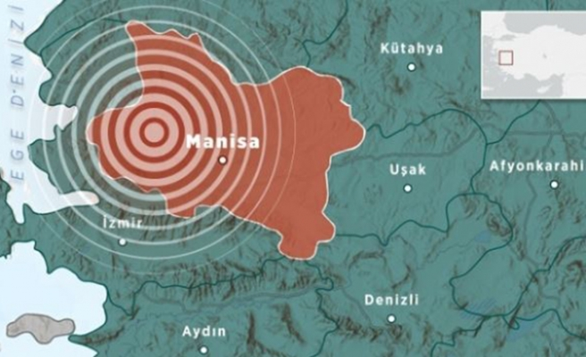 Manisa'da 3.5 büyüklüğünde deprem!