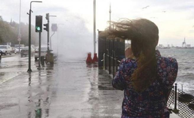Meteoroloji uyardı: Lodos, sağanak, fırtına...