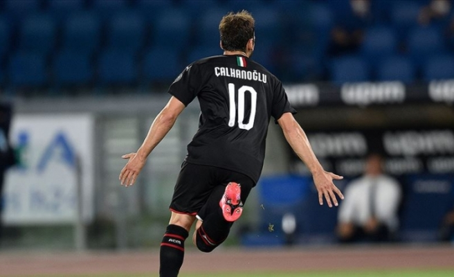 Milan'ı galibiyete Hakan Çalhanoğlu taşıdı