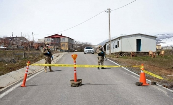 Adıyaman'da 81 ev karantinaya alındı